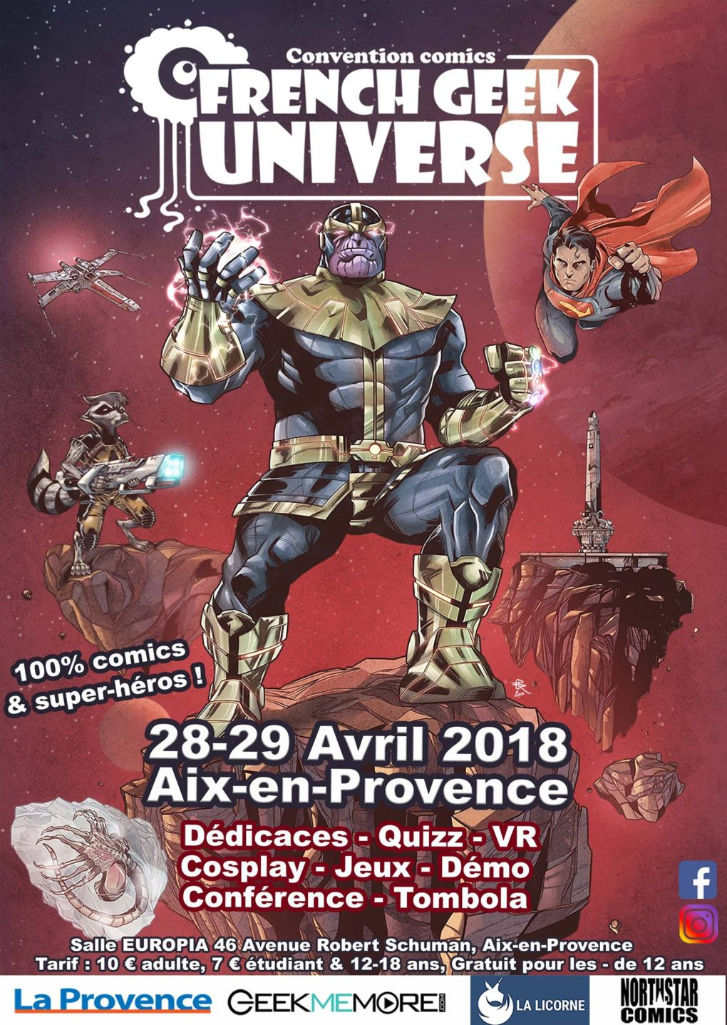 French Geek Universe 2018
