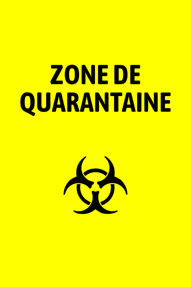 Zone de quarantaine