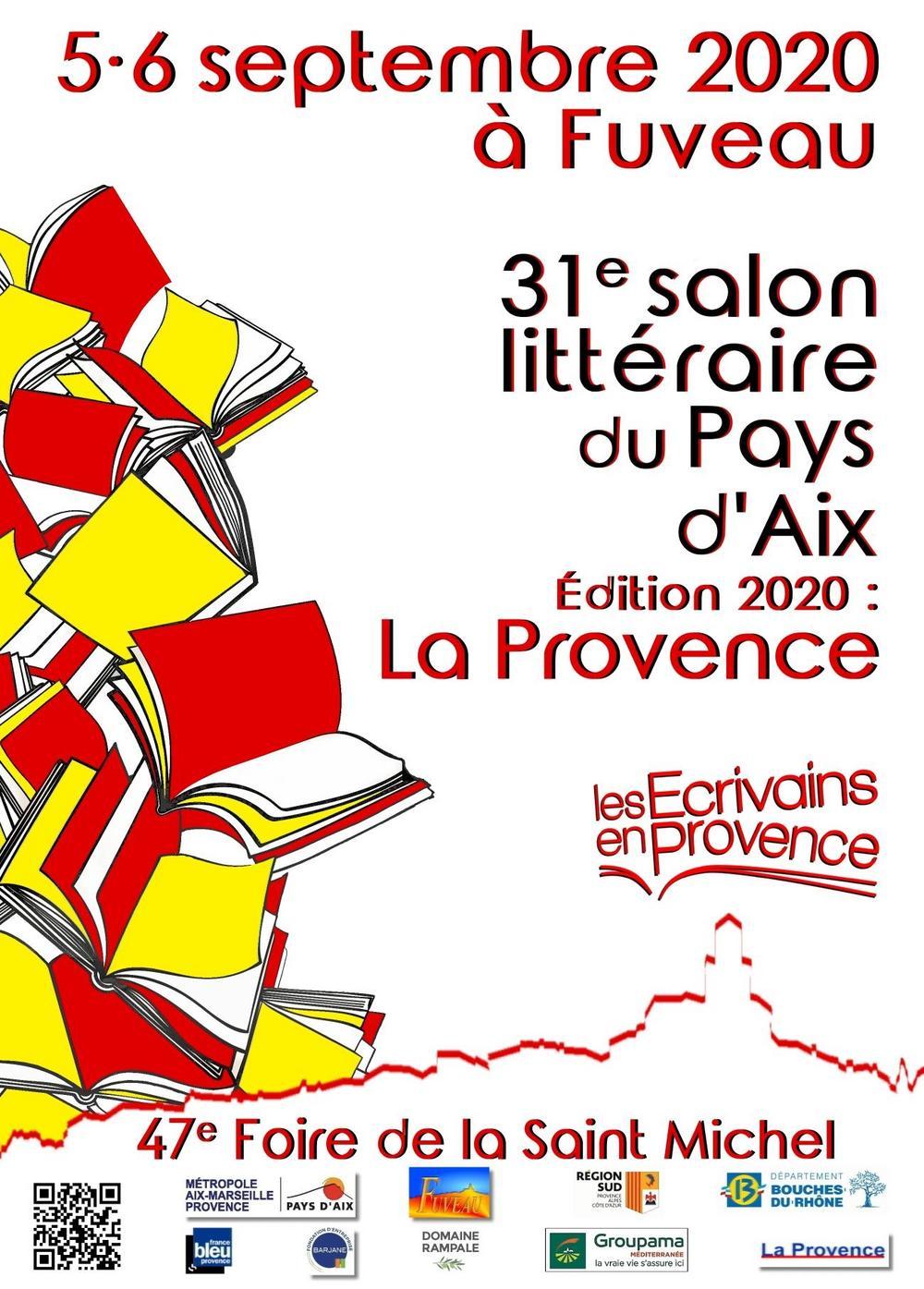 31e Salon littéraire du Pays d'Aix à Fuveau