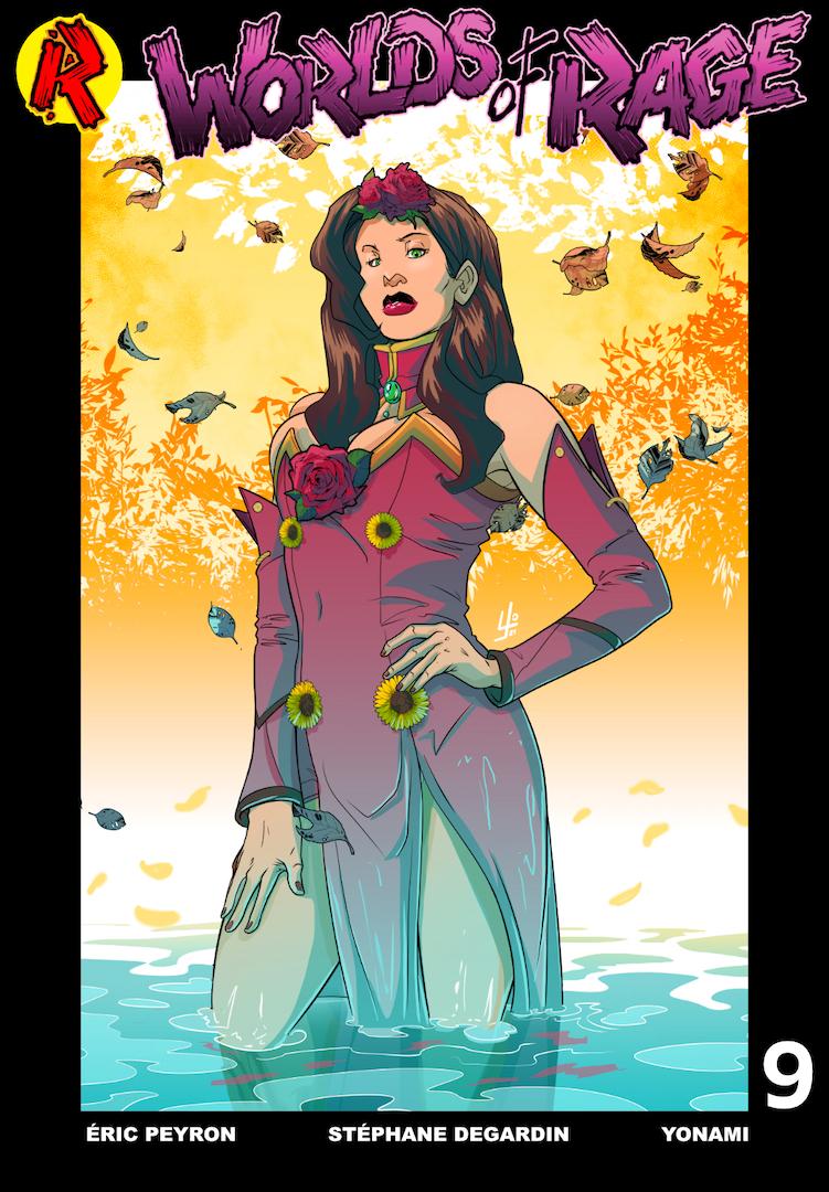 Worlds of Rage #9 Digital Cover FR
