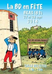 La BD en fête à Bras 2014