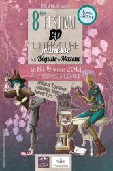 Festival BD & Littérature Jeunesse de la Bégude de Mazenc 2014